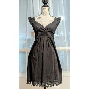 NWT DELICIOUS Sleeveless Cotton Black Dress